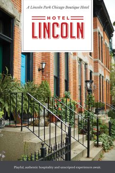 Enjoy A Truly Local Stay At Hotel Lincoln In The Heart Of Chicago S Park Neighborhood