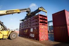 HC Innovations. Foldable shipping containers.