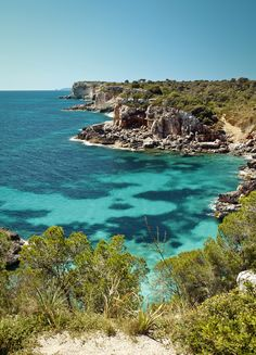 South East coast #Mallorca plenty of beautiful coves to discover. The best place to dive, snorkel...