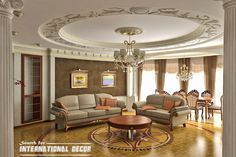 How to create a real classic interior design ?