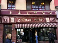 Carlo's Bakery - Hoboken NJ I watch cake boss all the time and ever time I watch it I always want to go there even more so this place would be amazing to go to