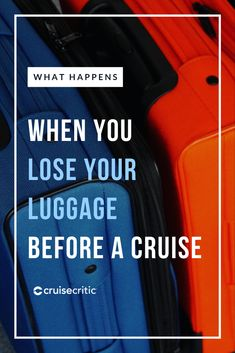 If your luggage was lost, getting reconnected with your bag is a big deal if you're hopping aboard a cruise that won't spend more than a day in any destination. Here are our top tips for what to do if an airline or cruise company has lost your luggage -- and how to avoid it in the future. #travel #traveltips #cruise #cruisetips #packing Best Cruise, Cruise Tips, Cruise Critic, Packing For A Cruise, Travel Insurance Policy, Domestic Flights, Guest Services, Set Sail