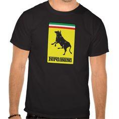 Kaikilla ei ole varaa Ferrari-paitaan, mutta Ferdinand-paitaan voi olla.  #ferrari #ferdinand #logo #huumori #humour #humor #zazzle #bull #ox