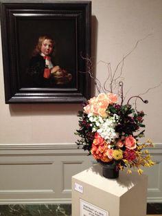 Floral interpretation of art at MFA