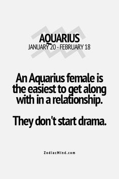 Aquarius, and if there is drama we remove ourselves from that situation. We don't want any part of it at all. Drama Free Zone!