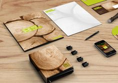 Holt // Enchanted Wood Furniture Identity Design by Yohanes Raymond, via Behance