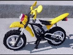 This is How to Create 3D Orgami Sport Motorcyle                                                                                                                                                                                 Más