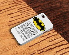 Batman iPhone 4(s) case and iPhone 5 case on Etsy, $14.79
