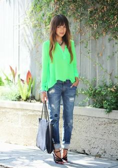 Como usar jeans destroyed - How to wear destroyed denim - Gosto Disto!