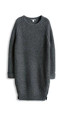 Pulloverkleid aus softem Grobstrick