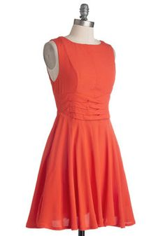 Bridesmaid Idea - Keeping with Coral Dress, #ModCloth