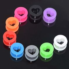 Find More Body Jewelry Information about In Stock 9pairs Ear Piercing Tunnels…