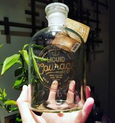 Liquid courage  a nice gift from a great friend ! #decanter