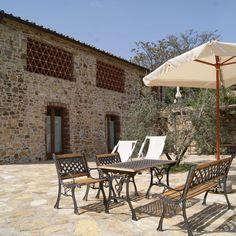 Vacation Apartment in Castellina In Chianti Outdoor Spaces, Outdoor Decor, Vacation Apartments, Ideal Home, Villa, Farmhouse, Patio, Home Decor, Products