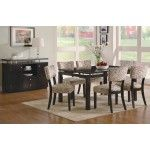 Coaster Furniture - Libby Rectangular Dining Table with Floating Top - 103165-5SET