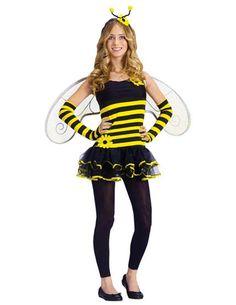 amazoncom kids costume honey bee teen 0 9 halloween costume
