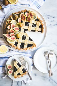 Inspired by Camille Styles recent trip to Italy, this fig & lemon crostata blends all the sweet flavors of nature in the simplest of ways.
