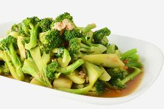 Broccoli And Baby Corn Stir-Fry