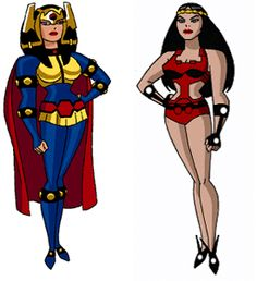 Big Barda (DC Animated Universe) by porqueyosoyfederic.deviantart.com on @DeviantArt