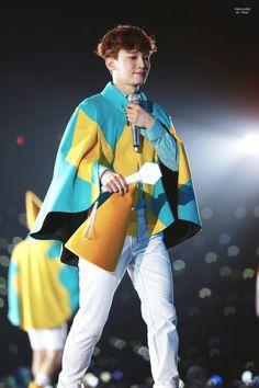 Chen - 170318 Exoplanet - The EXO'rDium in Kuala Lumpur Credit: The Glassez. Chanyeol, Kyungsoo, Exo News, Kim Jong Dae, Xiuchen, Kpop Groups, Boy Bands, Maine, Fangirl