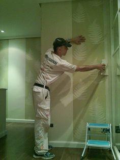 Papel pintado, decoraciones para  paredes