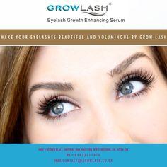 Make your Eyelashes beautiful and voluminous by GROW LASH
