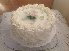 Rasberry, whitecholade cake