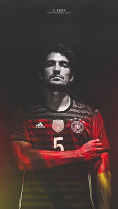 Mats Hummels. Lock screen.
