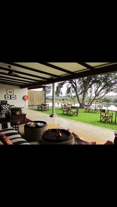View of the Day! @BuhalaLodge #SouthAfrica https://www.luxurylet.com/properties/details/buhala-lodge/ #Lodge #View #Scenic #Scenery #Garden #Veranda #River #Relax #LuxuryTravel #Luxury #Travel #TTOT