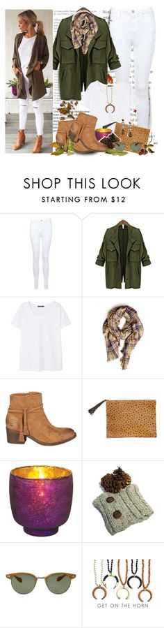 """""""Fall White"""" by bamaannie ❤ liked on Polyvore featuring Miss Selfridge, Violeta by Mango, Billabong, Cultural Intrigue and Oliver Peoples"""