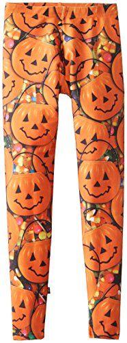 Zara Terez Big Girls' Jack-O-Lantern Leggings $48.00
