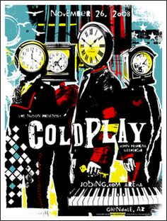 Love this old Coldplay poster