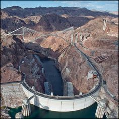 The Hoover Damn in Nevada
