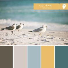 Color Palette :: Seaside Hues