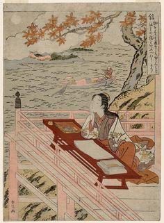 Faith (Shin), from the series The Five Virtues (Gojô)  1767 (Meiwa 4)  Artist Suzuki Harunobu,
