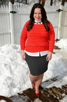 cute valentine's day outfits for plus size girls (10)