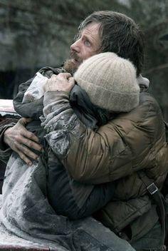 "Viggo Mortensen & Kodi Smit-McPhee in ""The Road"""