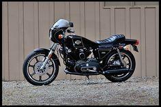 1977 Harley-Davidson XLCR presented as lot at Harrisburg, PA 2014 - Custom Harleys, Custom Bikes, The Mike, Harley Davidson Buell, Sportster Cafe Racer, Cafe Bike, Pinstriping, Bike Design, Aluminum Wheels