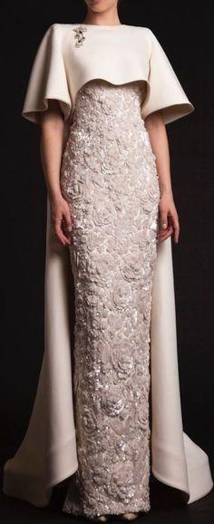 For The Love of Cape Dresses - Nigerian Bride