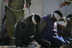 IDF-Methods range between severe beatings, putting prisoners under cold water followed by hot water, cuffing or restraining them with their arms behind them and then tying them to a door or window for long periods of time, often lasting hours