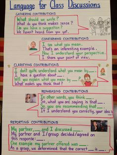 Academic language for classroom collaborative discussions in the common core classroom (from Kate Kinsella)