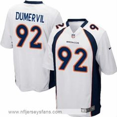 19833b298 Elvis Dumervil jersey Men s Nike game Denver Broncos White  cheap  broncos   jersey
