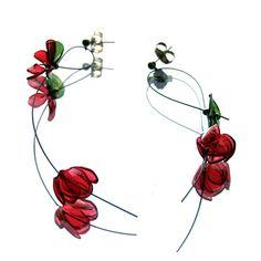 tertium non data (gulnur ozdaglar) PET plastic earrings