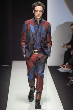 The Latest Vivienne Westwood Menswear Collection is Elegantly Edgy #fashion trendhunter.com