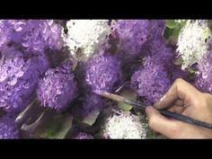 Как написать сирень за 3 часа. Живопись маслом. Painting lilac in 3 hours. Oil painting - YouTube