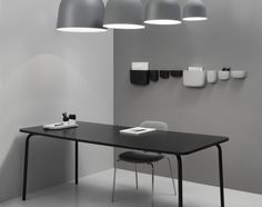 Buy the Wall storage Pocket 4 from Normann Copenhagen, on Made in Design - 48 to 72 hours delivery. Copenhagen Furniture, Wall Storage, Normann Copenhagen Bell Lamp, Dining Table, Modern Furniture, Lamp, Furniture Design, Pendant Lighting, Furniture