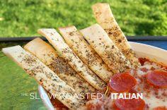 Parmesan Herb Bread Sticks