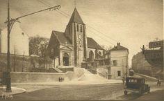 La place Saint-Blaise vers 1930  (Paris 20ème)