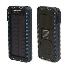 X-DRAGON Portable Solar Charger Waterproof, Multifunction, Flashlight, Survival Fire Lighter Number of Panels: Solar CellsFoldable Solar Panel: NoFlexible Solar Panel: NoMax. Power: Name: X-DRAGONSize: 162 x 80 x x x of Cells: YesMaterial: Mo Solar Phone Chargers, Solar Charger, Solar Battery, Solar Energy Panels, Best Solar Panels, Solar Energy System, Portable Solar Power, Solar Panel Installation, Solar Panel System