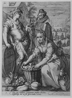 Jan (Pietersz.) Saenredam (Netherlandish, ca. 1565–1607). Autumn, from the series The Seasons. The Metropolitan Museum of Art, New York. The Elisha Whittelsey Collection, The Elisha Whittelsey Fund, 1949 (49.97.638)